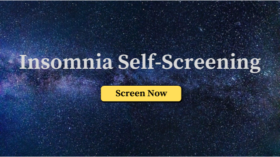 Insomnia Self-Screening image link
